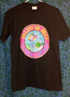 #1990s #palancarreef #mexico #neon #retro #neonretro #vintageforsale in our #etsyvintage shop #thehighwaythrifters #onlinethrifting #thriftingonline #blacktshirt #neontshirt #blackandneon #vintagetshirt #cool #fashion #tshirt #fish #beachlife #vacation #cozumel #cozumelmexivo #dayglow #90sshirt #justkeepswimming #newvintage #radclothes #rad