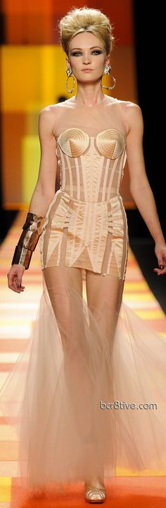 6eec278f51 Jean Paul Gaultier 2013 Spring Summer Haute Couture Couture Fashion