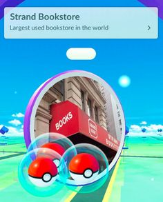 The Strand is a bookstore that's also a PokéStop in New York City, and according to the store, they're a hot spot for Bulbasaurs.