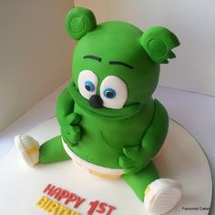 gummy bear cake idea #2