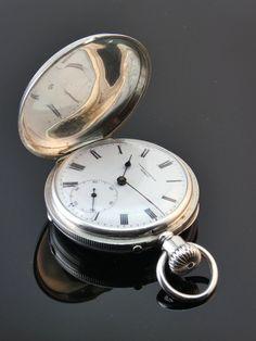 c1880, ANTIQUE 19thC FAVRE LEUBA BOMBAY SOLID SILVER FULL HUNTER POCKET WATCH  | eBay