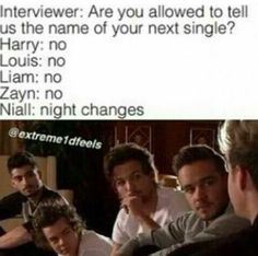 I mean... Why do i find this normal? I mean its coming from Niall, so it doesn't really surprise me