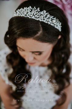 Raluca Bridal Accessories hairpiece Bridal Tiara Bridal Hair Accessory  Bridal Hairpiece Bridal Crown Wedding inspiration hairstyle #bride #wedding #bridal #bridalhair #bridetobe #hairstyles #hairpiece Bridal Crown, Bridal Tiara, Bridal Hairpiece, Headpiece, Crown Hairstyles, Wedding Hairstyles, Bridal Hair Accessories, Hair Jewelry, Hair Pieces