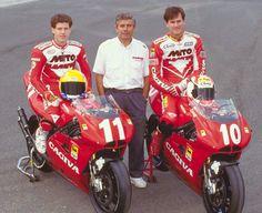 Kocinsky, Agostini & Doug Chandler CAGIVA