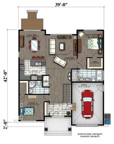 Plan Image Used When Printing House Ideas In 2018 House Plans