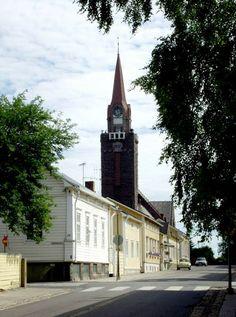 Raahe, Northern Ostrobothnia province of Finland - Pohjois-Pohjanmaa Finland Destinations, Travel Destinations, Grave Monuments, Finland Travel, Good Neighbor, Church Building, Helsinki, Graveyards, Tours