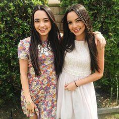 """Vanessa and Veronica Merrell  """"Happy Easter! He is risen! """""""