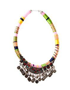 ASOS Habenera Coin Collar Necklace