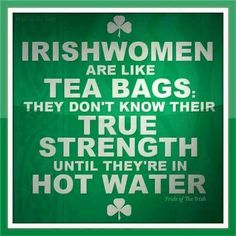 Irish temper too