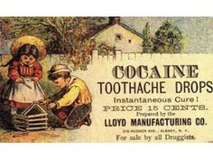 Vintage Ad  - Toothache Drops...will these work for my wisdom teeth pain & where can I get these?!! ;)