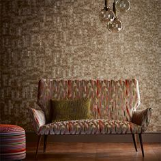 Harlequin - Designer Fabrics and Wallcoverings | Products | British/UK Fabrics and Wallpapers | Makena (HVER131282) | Zambezi