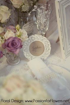 Vintage wedding flowers {Passion for Flowers at The Vintage Chic Wedding Fair} - Passion for Flowers ~ Blog