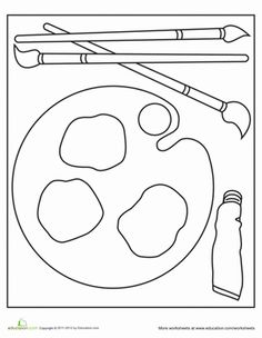 *free* Mouse Paint Printable Activity Sheet Pages to