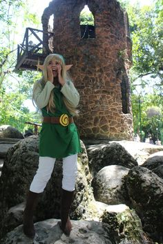 Brasilian Link cosplay girl