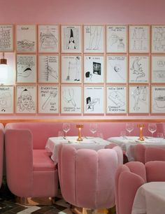 From Picassos in France to Warhols in New York, these are the restaurants where the walls rival their menus. See the full list here.