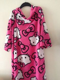 Bnwt #girls pink hello #kitty #snuggle blanket snug wrap blanket with sleeves,  View more on the LINK: http://www.zeppy.io/product/gb/2/262764232153/