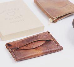 Fielders Choice Vintage Baseball Glove Wallets | The Baum List