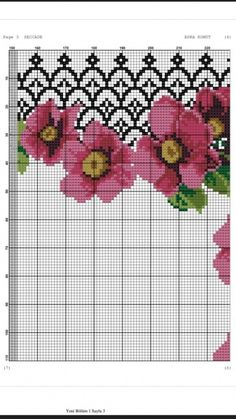 1 million+ Stunning Free Images to Use Anywhere Cross Stitch Borders, Cross Stitch Flowers, Cross Stitch Designs, Cross Stitching, Cross Stitch Embroidery, Embroidery Patterns, Cross Stitch Patterns, Free To Use Images, Prayer Rug