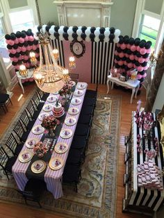 poodle in paris Birthday Party Ideas | Photo 2 of 6