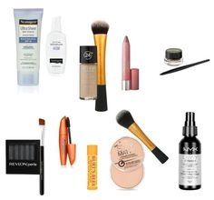 Travel Makeup Essentials - Low End Prices - http://liveitinerantly.com/