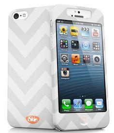 Coole iPhone 5 Hülle - iSkin slims für iPhone 5 chevron