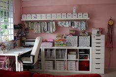 Scrap Corner by Yenni Natalia, via Flickr