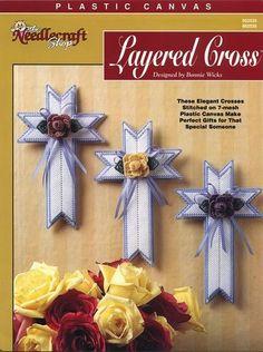 Lace Flower Crosses 1/2