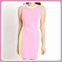 "Selling this ""A DESIGNER COLORBLOCK DRESS"" in my Poshmark closet! My username is: aprils2ndcloset. #shopmycloset #poshmark #fashion #shopping #style #forsale #Drew #Dresses & Skirts"