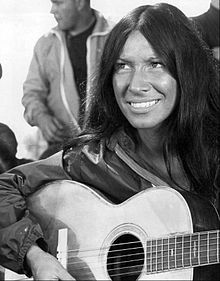Buffy Sainte-Marie - singer-songwriter, activist, composer and pacifist.