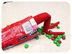 Elf on a Shelf ideas~ wish my son was still little enough.....