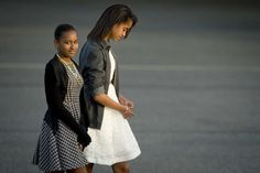 Meet the 4 Women Who (Sort of) Know What Sasha and Malia Are Going Through