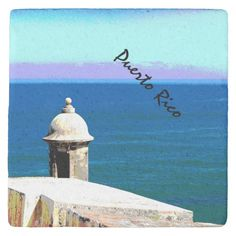 Shop Puerto Rico Stone Coaster created by PatsPics. Personalize it with photos & text or purchase as is! Guard House, Stone Coasters, Where The Heart Is, White Elephant Gifts, Puerto Rico, Holiday Cards, Caribbean, Kids Shop, Cork