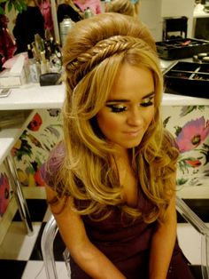 If you love pics of BIG hair and over the top makeup you will love this pin! Gallery – Peaches & Cream - Liverpool Makeup Artists - Wedding Makeup