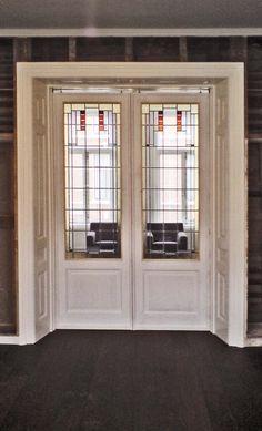 Interior Doors, Interior Design, Amsterdam School, Home Structure, Industrial Home Design, Deco Interiors, Entryway Storage, Art Deco Design, Modern Furniture