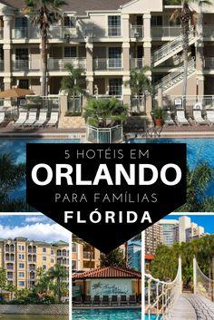 Programando um viagem em família para Orlando? Então você precisa de um hotel adequado! / Planning a family trip to Orlando? So you need a suitable hotel!