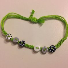 Green with Buttons on Etsy, $6.00