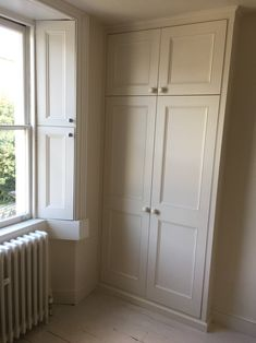 Hand built, bespoke wardrobes, alcove units, shelves and storage. Hallway Cupboards, Alcove Cupboards, Bathroom Cupboards, Hallway Storage, Built In Cupboards Living Room, Built In Wardrobe Ideas Alcove, Bedroom Built In Wardrobe, Bedroom Alcove, Bedroom Storage