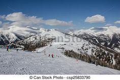 #Skiing In #Bad #Kleinkirchheim @canstockphoto #canstockphoto @kleinkirchheim @carinzia #ktr15 #nature #landscape #view #snow season #winter #Carinthia #Austria #mountains #vacation #holidays #stoswald #stock #photo #portfolio #download #hires #royaltyfree