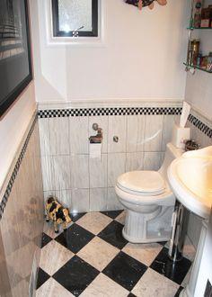 Marble Tiles & St.Thomas Toilet