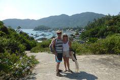 Cham Island, very hot, but scenic walk!