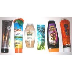 6 Outdoor Beach Indoor Tanning Bed Suntan Lotions Bronzers Maximizers Australian Gold, Swedish Beauty   Other Brands --- http://www.amazon.com/Outdoor-Tanning-Bronzers-Maximizers-Australian/dp/B00CRUAG5U/?tag=Peteconv-20