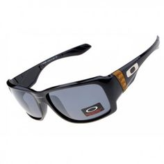 8e1e3ebe6f Oakley Big Taco sunglasses polished black   gray iridium Oakley Eyewear
