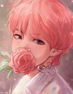 Should I trace it and post it🌚💜 Taehyung BTS ARMY Loveyourselfe fanpage nohate like komment Taehyung Fanart, Bts Taehyung, Bts Jungkook, Jungkook Fanart, V Chibi, Anime Chibi, Anime Art, Kpop Anime, Anime Meme