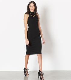 Knit Bodycon Midi Dress