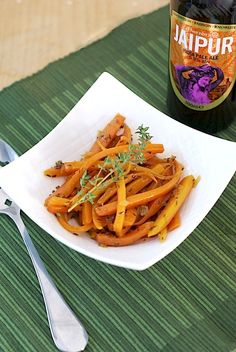 Cooking with beer: Cumin & Orange IPA Braised Carrots