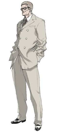 Wiseman, Metal Gear Acid 2 - Art by Tsubasa Masao