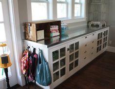 DIY metal countertops