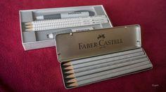 Faber-Castell  HONDA  set и  Faber-Castell  РЖД Collection  set
