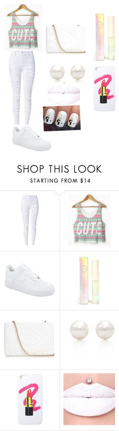 """""""cute"""" by rayanna0927 ❤ liked on Polyvore featuring NIKE, Sigma Beauty, Anya Hindmarch, Tiffany & Co., LAUREN MOSHI, women's clothing, women's fashion, women, female and woman"""