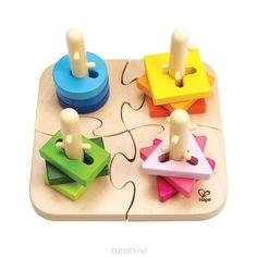 """Развивающая игрушка-пазл """"Колышки"""" - купить детские товары с доставкой в интернет-магазине Ozon.ru. Описание и цена развивающая игрушка-пазл """"колышки"""", отзывы покупателей."""